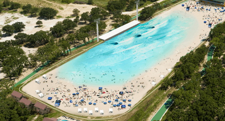 BSR Surf Ranch: the new surf pool by American Wave Machines