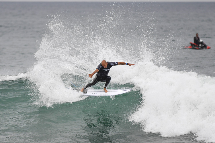 Kelly Slater: ready to battle for an unprecedented 12th world title | Photo: WSL