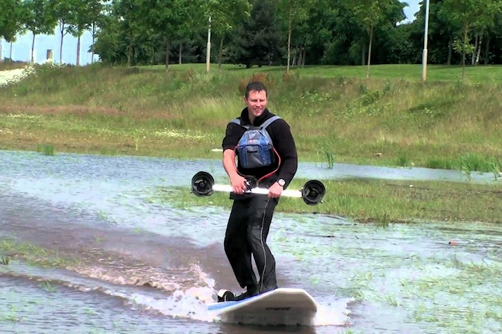Adam Contoret: giving thrusters a new meaning