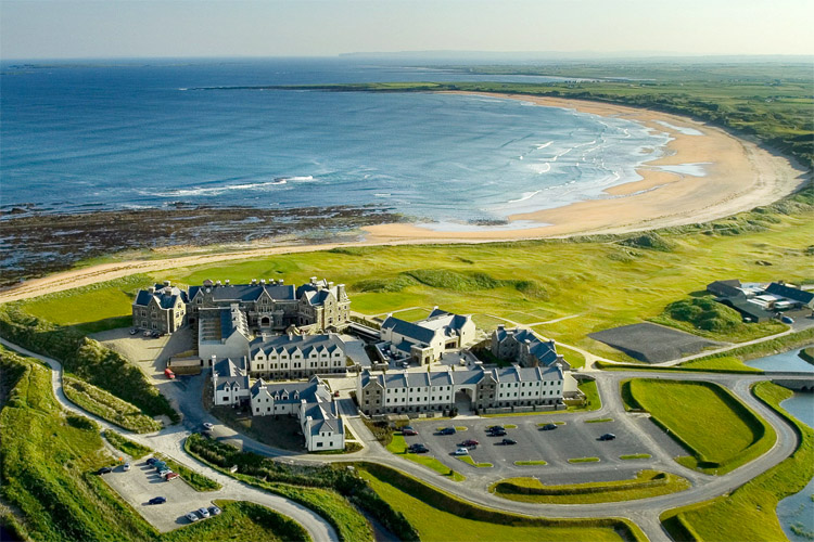 Doughmore Beach: Donald Trump wants to build a seawall in these dunes | Photo: Trump Hotels