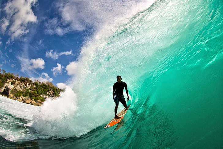 Barrels: where time speeds up and slows down | Photo: Rip Curl
