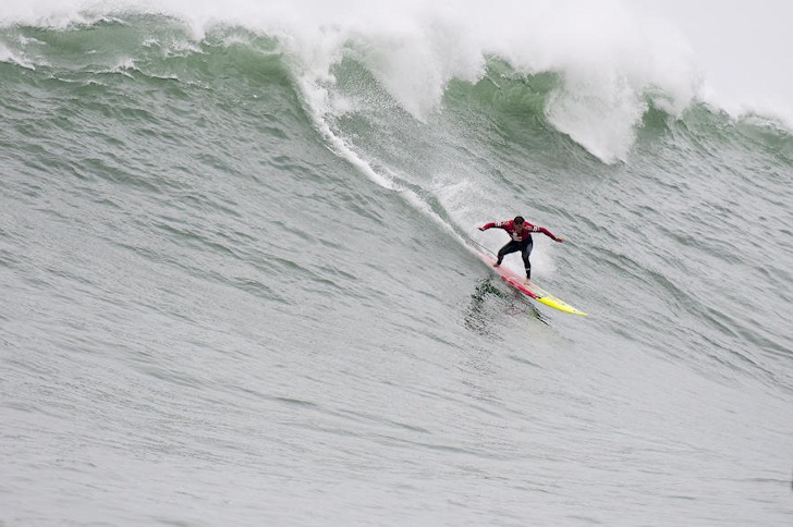 Makua Rothman: he dropped into an impossible ride