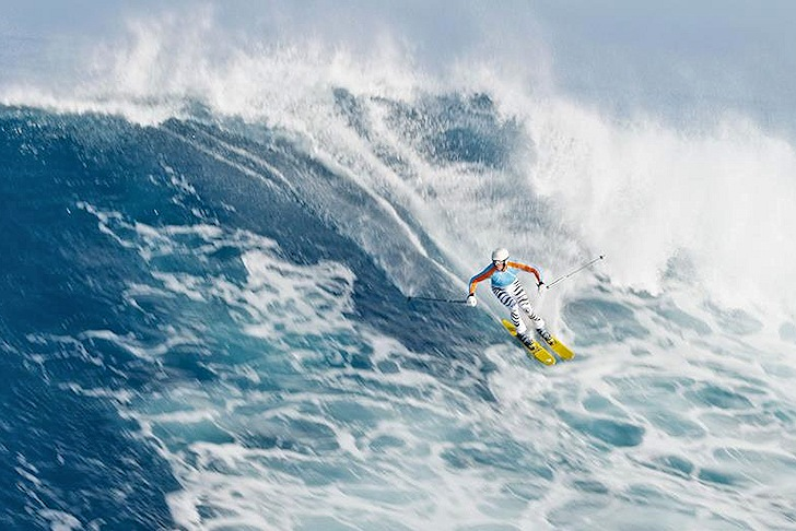 Chuck Patterson: the master of surf skiing
