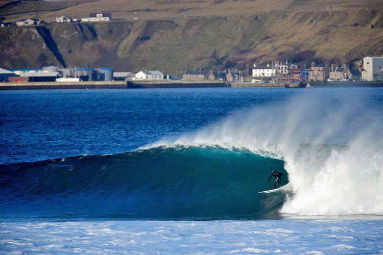 Scotland: perfect waves, very cold waters | Photo: Scottish Surfing Federation