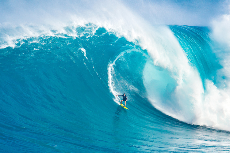 Big wave surfers: they train and exercise the mammalian diving reflex to optimize and lower oxygen consumption | Photo: Shutterstock