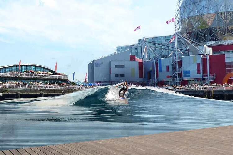 CitySurf: a surf pool in the heart of Vancouver