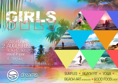 Girls Only surfevent