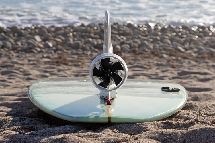 Boost Surfing: this fin will enable you to catch up to three times more waves | Photo: Boost Surfing