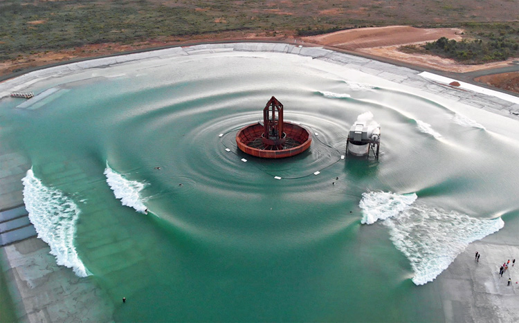 Surf Lakes: featuring the 5 Waves technology | Photo: Surf Lakes