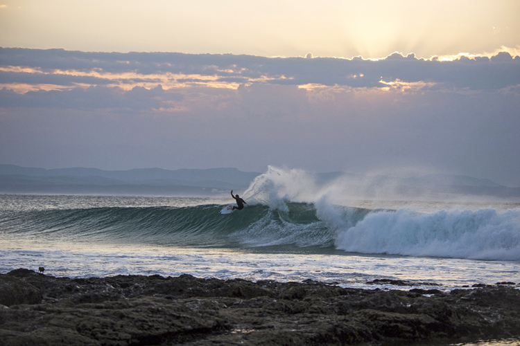 Mick Fanning: ready to fight shark fear at Jeffreys Bay | Photo: Miller/Red Bull
