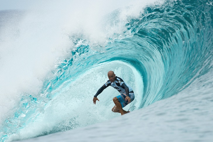 Kelly Slater: focusing on the eye of the needle