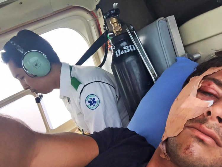 Jeremy Flores: get well soon, duded