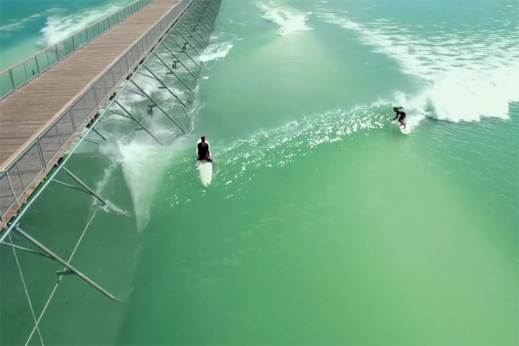 NLand: North America's first artificial surf pool