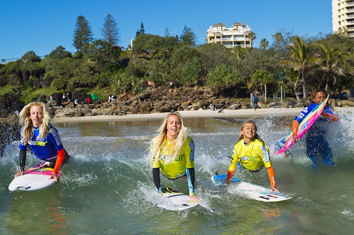 Subway Summer Surf Series: Laura Enever wants to join the comp