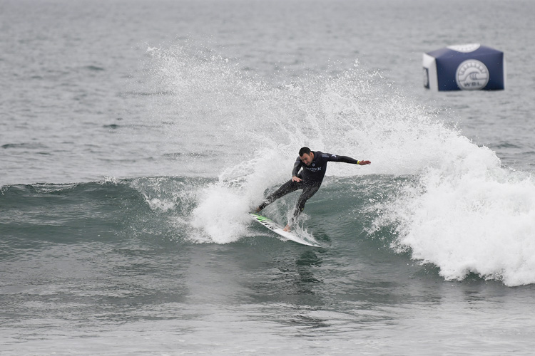 Joel Parkinson: always smooth at Lower Trestles | Photo: Kirstin/WSL