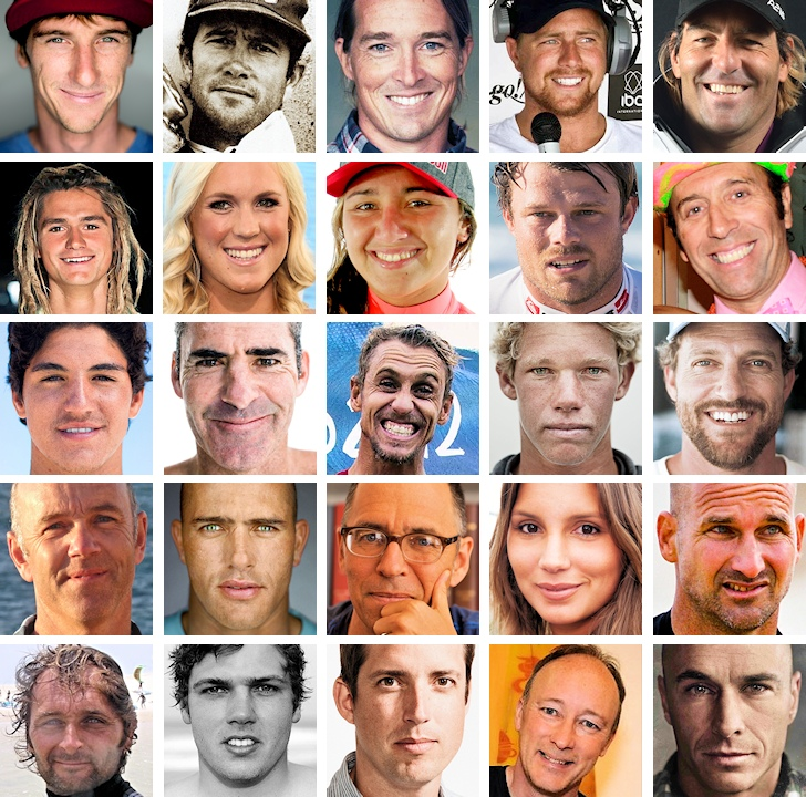 The most influential people in wave sports in 2014